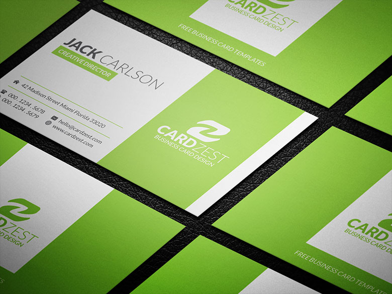 Stylish refreshing lime green business card psd by mengloong on stylish refreshing lime green business card psd by mengloong accmission