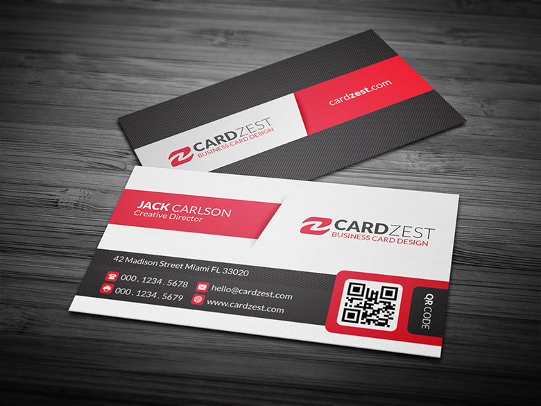 Bold modern qr code business card template by mengloong on deviantart bold modern qr code business card template by mengloong cheaphphosting Choice Image