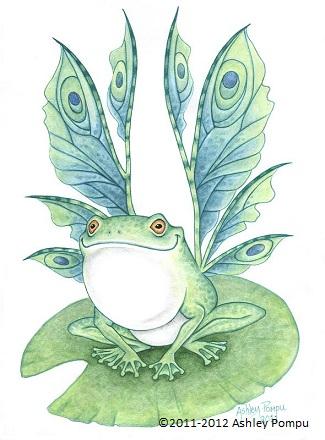 Fairy Frog by vashley