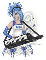 Blueberry Rockstar by vashley