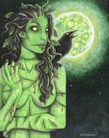 Radioactive Zombie Girl by vashley