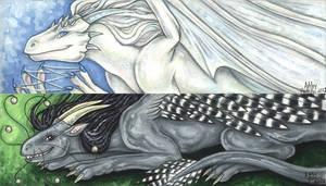 Dragon Bookmark for Natoli by vashley