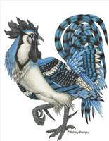Blue Rooster by vashley