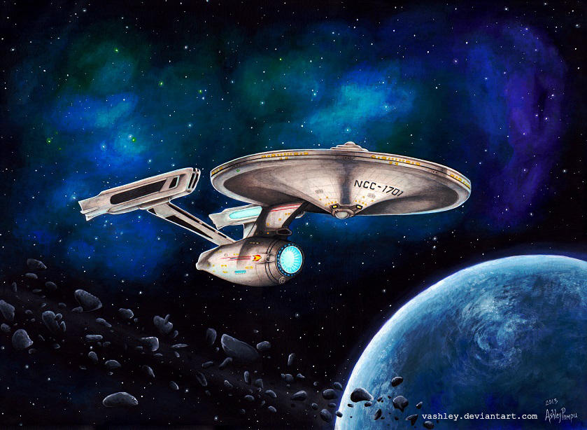 USS Enterprise NCC-1701 refit