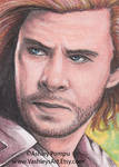 Thor Sketchcard by vashley