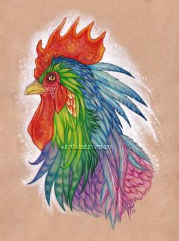 Rainbow Cock