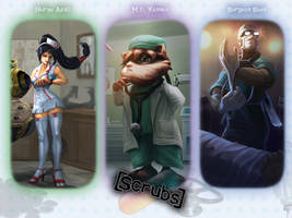 LoL Scrubs Wallpaper 1024x768 by PaoloPuzza