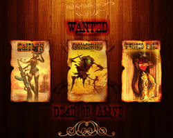 LoL Wild West Wallpaper #2 by PaoloPuzza
