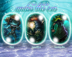 LoL Under the Sea Wallpaper #2 by PaoloPuzza