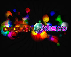 Chocolate Disco Wallpaper by PaoloPuzza