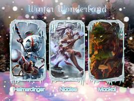 LoL Winter Wonderland Wallpaper 4 by PaoloPuzza