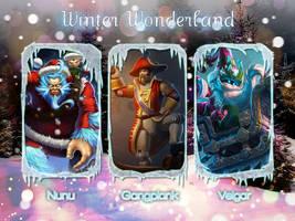 LoL Winter Wonderland Wallpaper 5 by PaoloPuzza