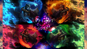 Udyr Spirit Guard Wallpaper 1366x768 by PaoloPuzza
