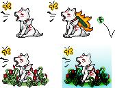 Chibiterasu Yawn by Sumwheat