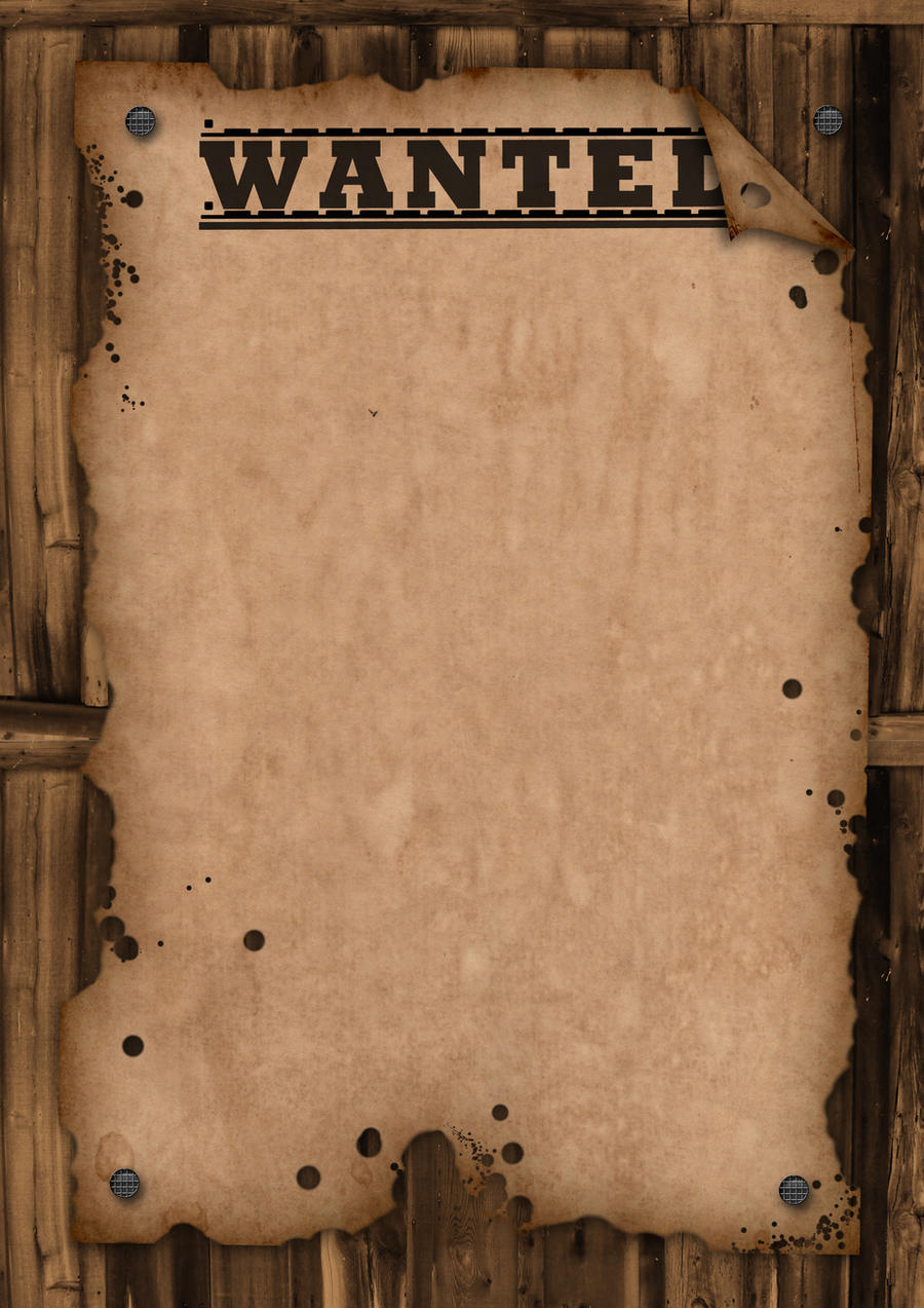 WANTED - Template by Maxemilliam on DeviantArt