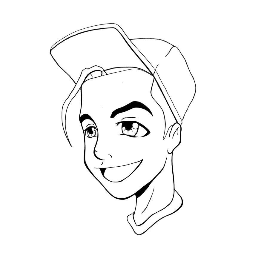 Line Art Character : New character lineart by peternicholson on deviantart