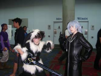 Fanime '07 Sora and Riku by Unicornmon