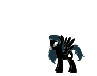 Soulful Shadow - MLP:FiM OC by KeiSetsureki