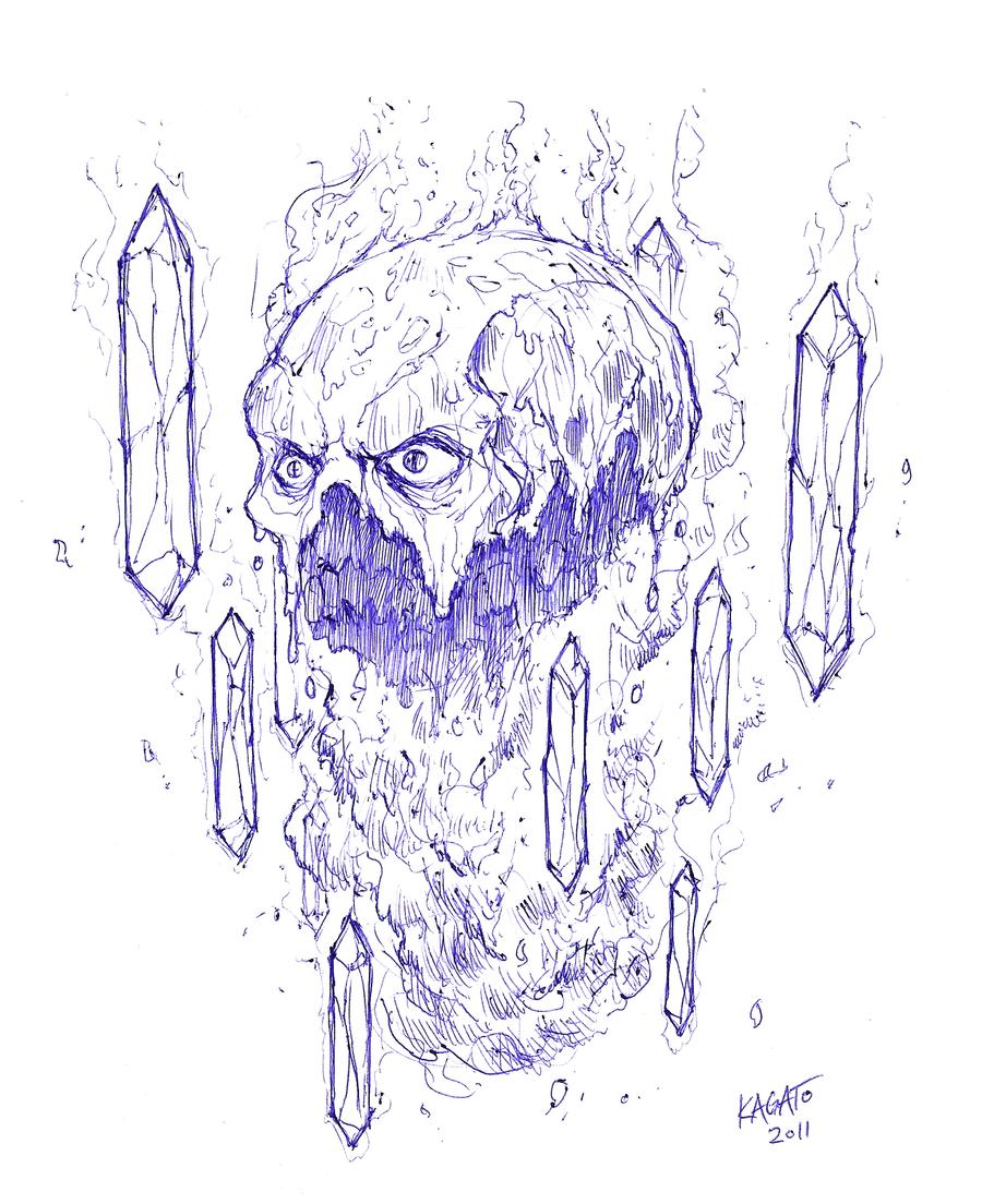 Blaze sketch by StudioKagato