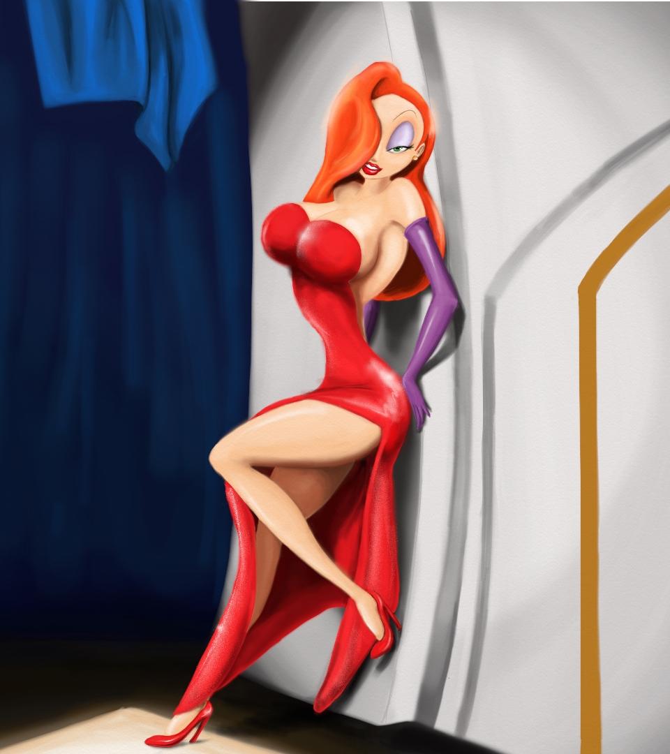 Disney - Jessica Rabbit by Falchion36