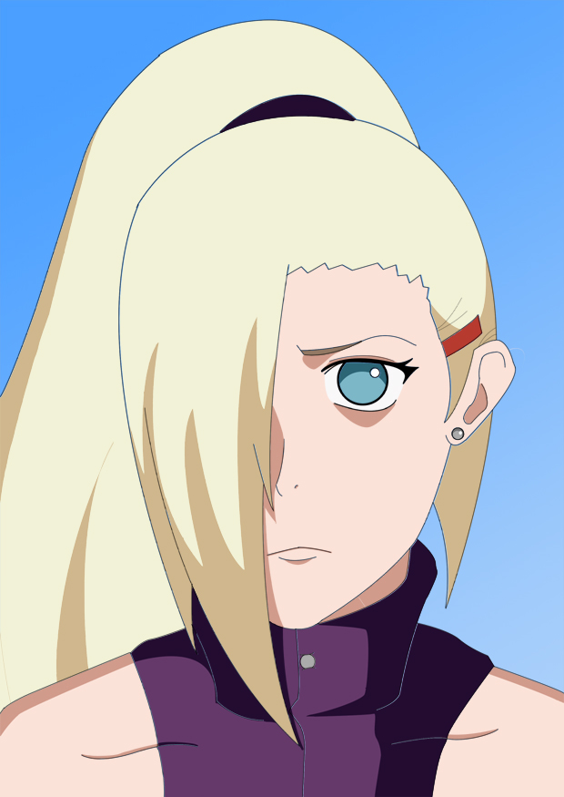 Ino Yamanaka - Colored by sonor16