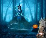 Photo Manipulation - Magical Halloween