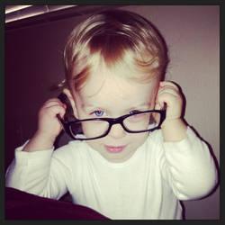 Dadda's Glasses by panda209