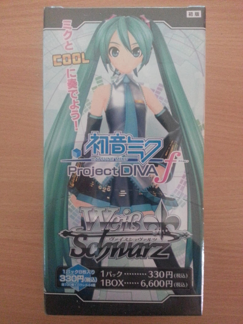 Hatsune Miku PDF Weiss Schwarz Booster Box - Front by Fubukio