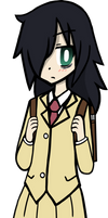WataMote - Kuroki Tomoko