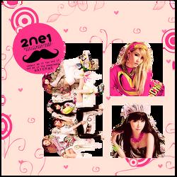 2ne1 - png pack (render) by michiru92