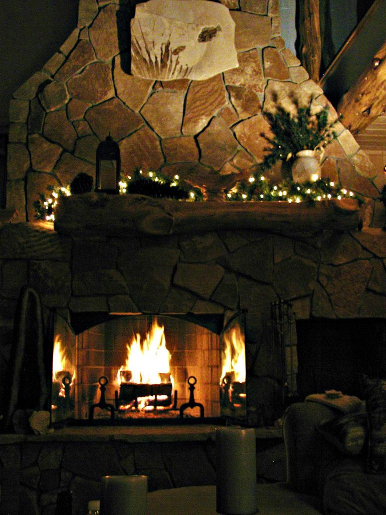 Fireplace Love by uhtalia on DeviantArt