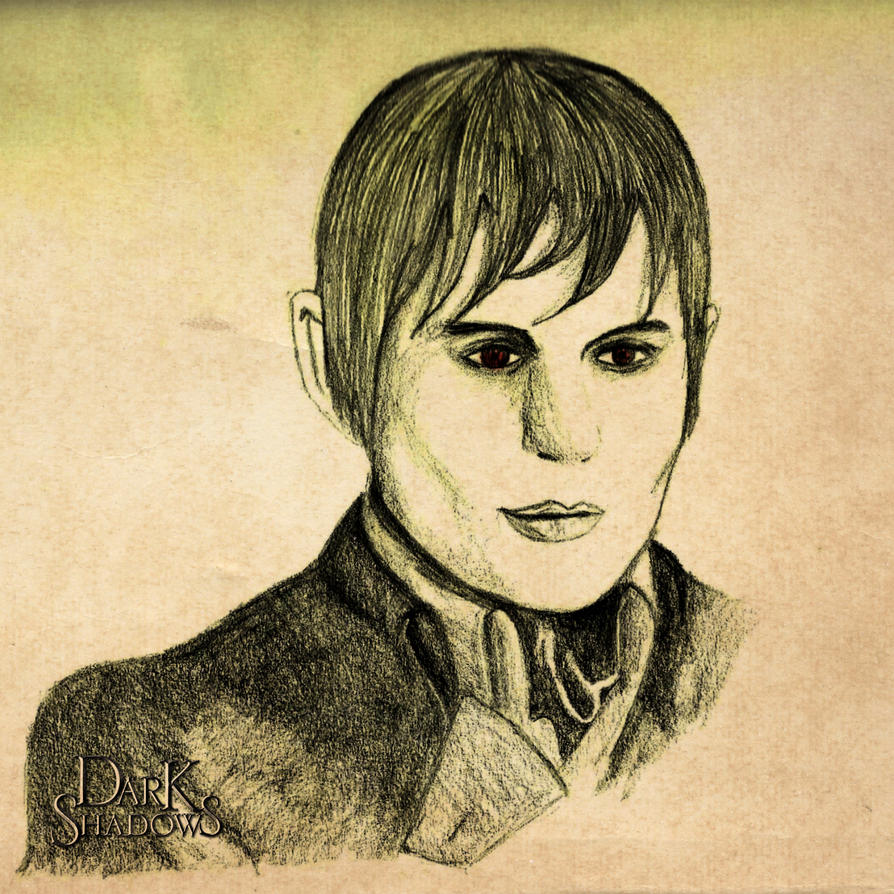 Barnabas Collins by uhtalia