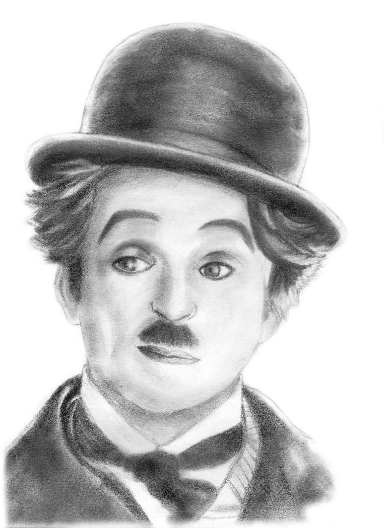 Charlie Chaplin by uhtalia