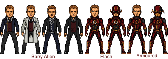 The Flash (Barry Allen) by snakeyboy888
