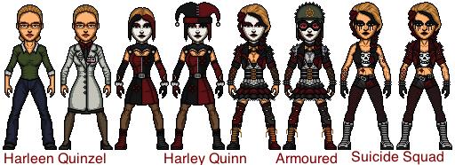 Harley Quinn (Harleen Quinzel) by snakeyboy888