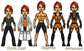 Giganta (Doris Zuel) by snakeyboy888