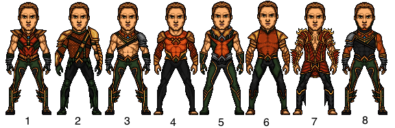 Aquaman (Arthur Curry) Choose your fav by snakeyboy888
