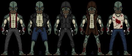 Killer Croc (Waylon Jones) (Choose Your Fave) by snakeyboy888