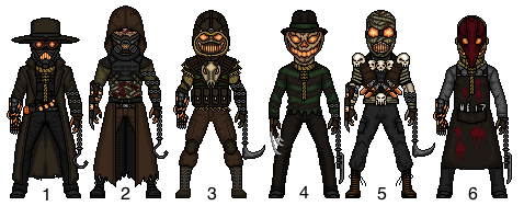 Scarecrow (Jonathan Crane) Choose your fav by snakeyboy888