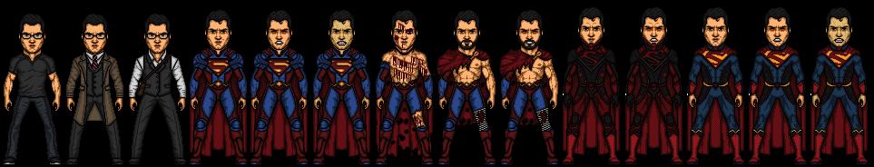Superman (Clark Kent) by snakeyboy888