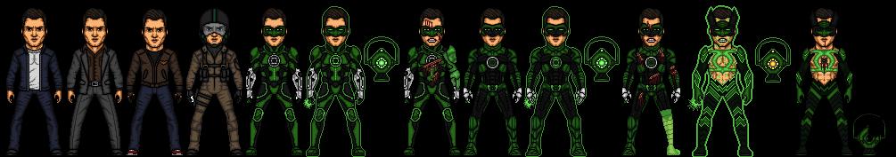 Green Lantern (Hal Jordan) by snakeyboy888