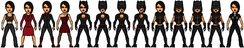 Catwoman (Selina Kyle) by snakeyboy888
