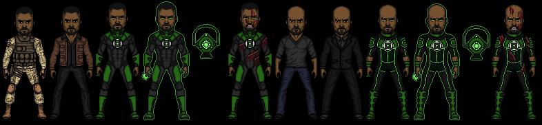 Green Lantern (John Stewart) by snakeyboy888