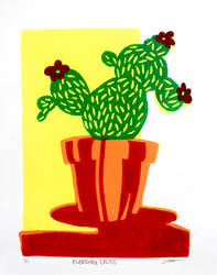 Bleeding Cactus by SierraEley