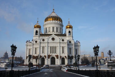 Cathedral of Christ the Saviour 1 by Yavanna1815