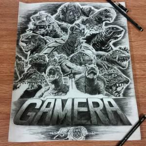 Gamera 50th Anniversary