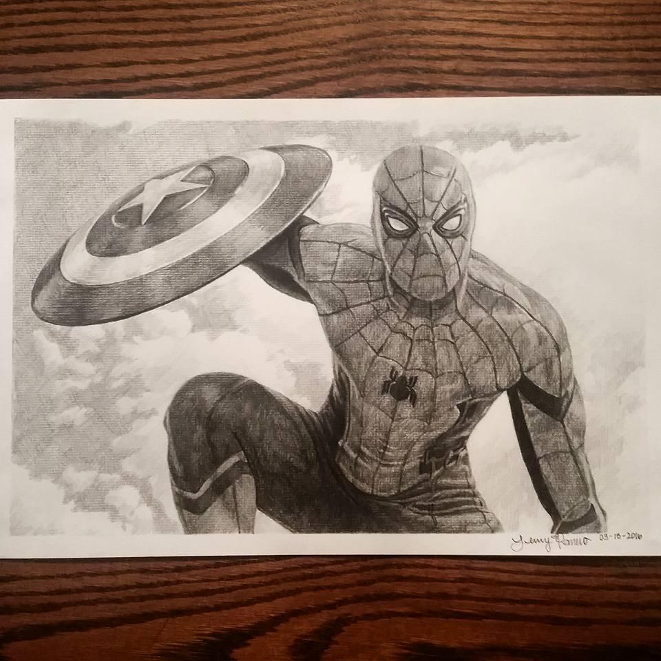 Civil War Spiderman by Lenzations