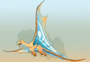 The Warner Dragon (Concept Lineart)