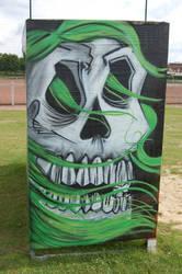 skull cellograph by FeverForever