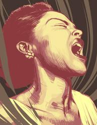 Billie Holiday by BillyNunez